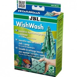 Photo de JBL WishWash Aqua serviette + éponge chez Zone Aquatique