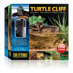 Photo de Exo Terra Turtle Cliff roche filtrante - Moyen chez Zone Aquatique