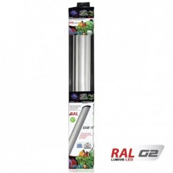 Photo de Rampe Led Lumivie G2 Blanc - 40 W 120cm chez Zone Aquatique