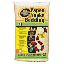 ZooMed Aspen Snake Bedding - Chanvre 8,8 litres