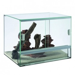 Photo de Terrarium TerraVie en verre - 30 x 25 x 25 chez Zone Aquatique