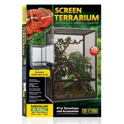 Photo de Screen Terrarium - 60 x 45 x 90 cm chez Zone Aquatique