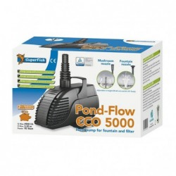 Photo de Pompe à eau bassin Pond Flow - 5000 l/h chez Zone Aquatique