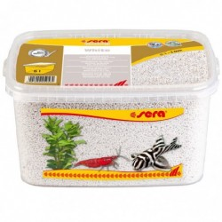 Photo de Sera Gravel White Gravier pour Aquarium - 6 L chez Zone Aquatique