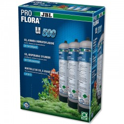 Photo de JBL Proflora u500 - Bouteille CO2 500g - lot de 3 chez Zone Aquatique